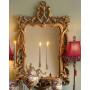 """Зеркало настенное в винтажной золотой раме """"Беатриче"""" в интернет-магазине ROSESTAR фото 2"""
