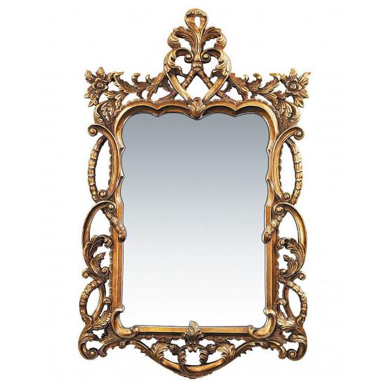 """Зеркало настенное в винтажной золотой раме """"Беатриче"""" в интернет-магазине ROSESTAR фото"""