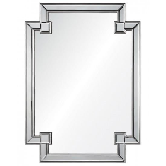 """Дизайнерское оригинальное зеркало настенное """"Честер"""" Серебро в интернет-магазине ROSESTAR фото"""