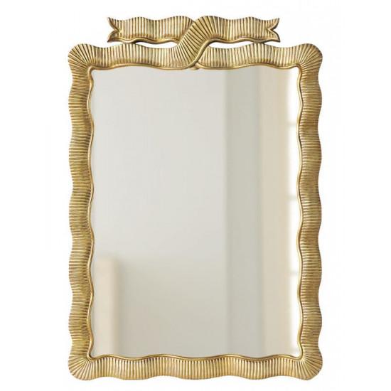 """Дизайнерское красивое настенное зеркало """"Эбигейл"""" Золото в интернет-магазине ROSESTAR фото"""