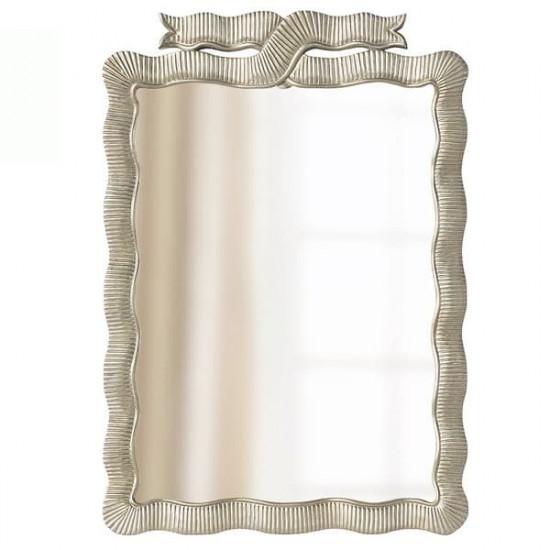 Зеркало дизайнерское настенное Эбигейл Серебро