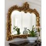 Модное зеркало в золотой раме Жаклин  в интернет-магазине ROSESTAR фото 1