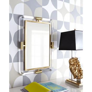 Настенное дизайнерское зеркало в раме Гарольд