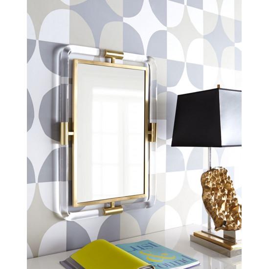 Настенное дизайнерское зеркало в раме Гарольд в интернет-магазине ROSESTAR фото