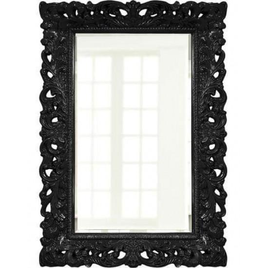 """Зеркало настенное в чёрной раме """"Гэрри""""  в интернет-магазине ROSESTAR фото"""