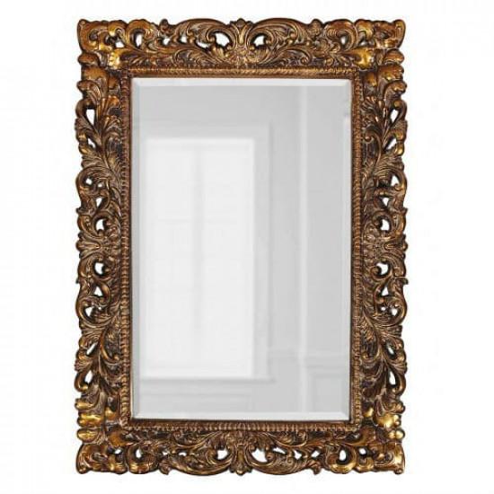 Зеркало настенное в раме Гэрри Золото в интернет-магазине ROSESTAR фото
