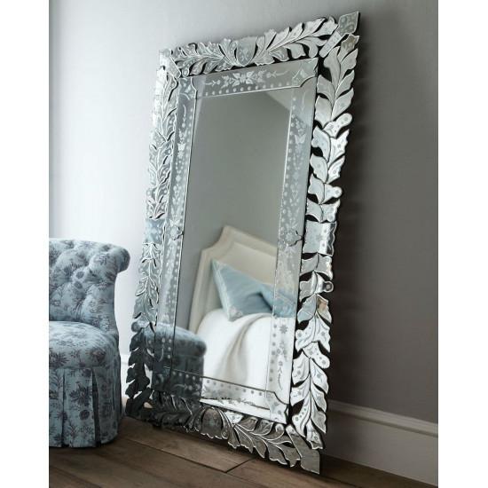 """Напольное большое венецианское зеркало в полный рост """"Глэм Фло"""" в интернет-магазине ROSESTAR фото"""