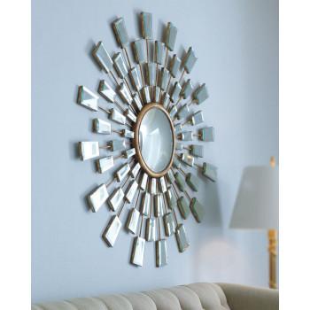 """Зеркало круглое в виде солнца """"Холи"""""""