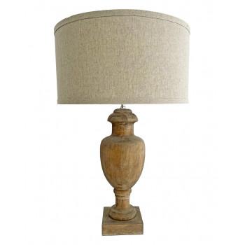 Деревянная настольная лампа Кенсингтон