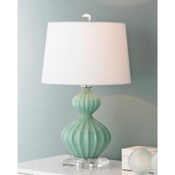 Настольная лампа Майра Аква