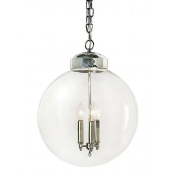 Подвесной потолочный светильник Освальд Серебро