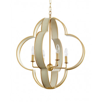 Потолочная люстра с 4-мя лампами Палмер