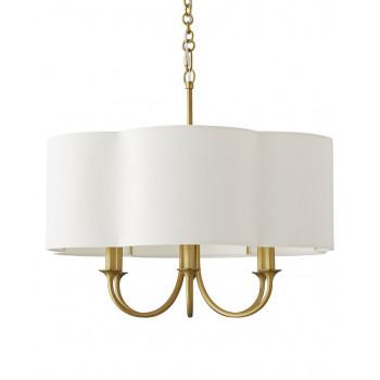 Потолочная люстра в американском стиле с 6-ю лампами Шеффилд Золото gold