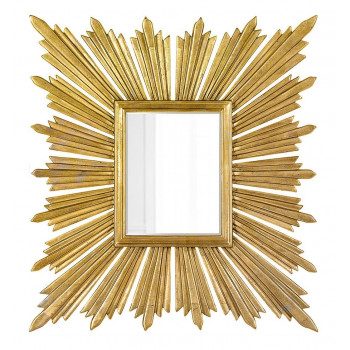 """Зеркало дизайнерское настенное """"Милфорд"""" Золото"""
