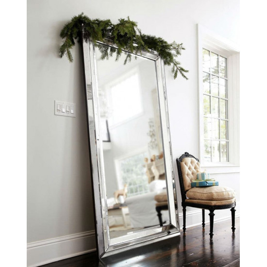"""Зеркало напольное в зеркальной раме в полный рост """"Арлингтон"""" в интернет-магазине ROSESTAR фото"""