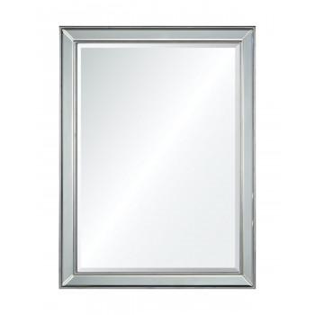 Зеркало настенное в серебряной раме Блез silver
