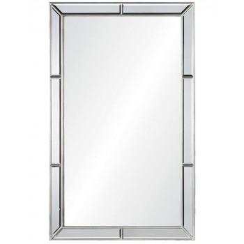 Зеркало настенное в серебряной раме Эвин