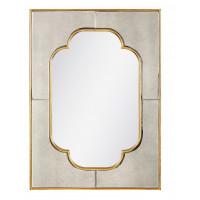 Зеркало настенное в золотой раме Патриция