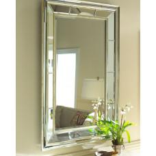 Зеркало в двойной зеркальной раме настенное Сибил