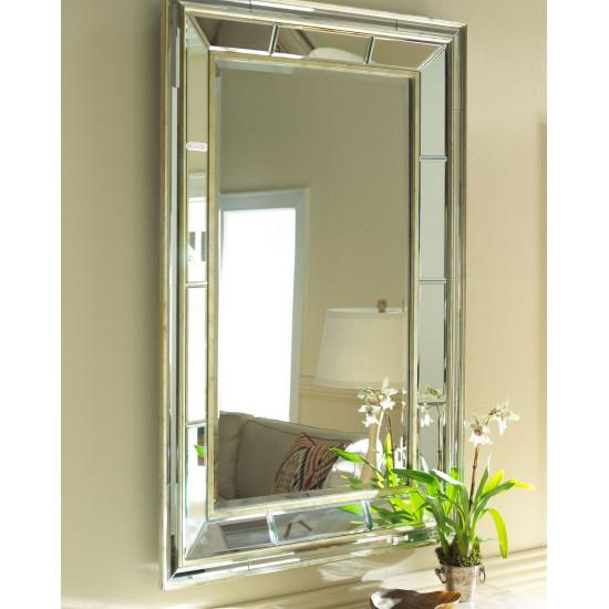 Зеркало в двойной зеркальной раме настенное Сибил в интернет-магазине ROSESTAR фото