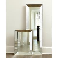 Большое напольное зеркало в зеркальной раме в полный рост Аткинс