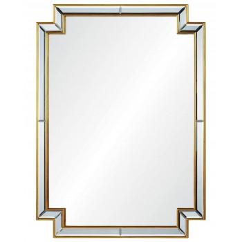 Зеркало настенное в золотой раме Холтон gold