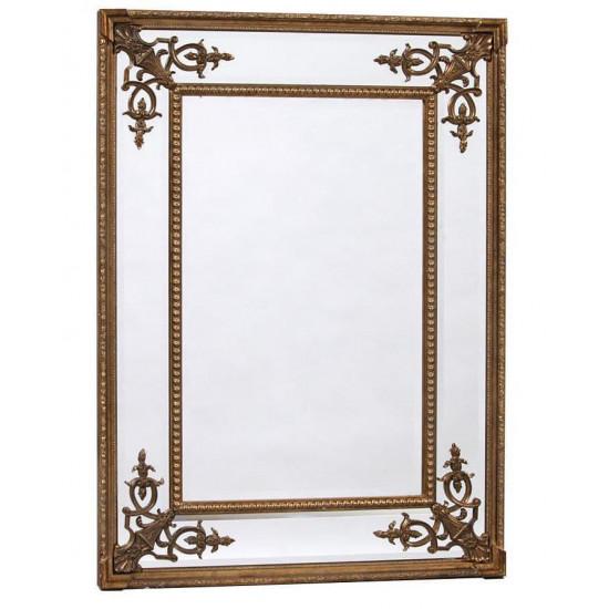 """Прямоугольное дизайнерское зеркало в раме """"Оливер"""" в интернет-магазине ROSESTAR фото"""
