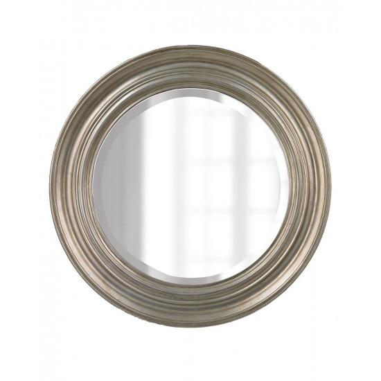 Круглое дизайнерское настенное зеркало в раме Реми в интернет-магазине ROSESTAR фото
