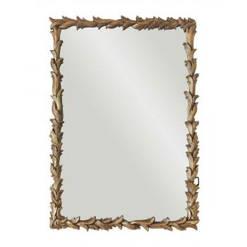"""Зеркало настенное в раме """"Уолбэк"""" Золото"""