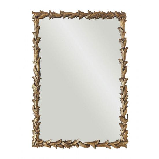 Зеркало настенное в раме Уолбэк Золото в интернет-магазине ROSESTAR фото
