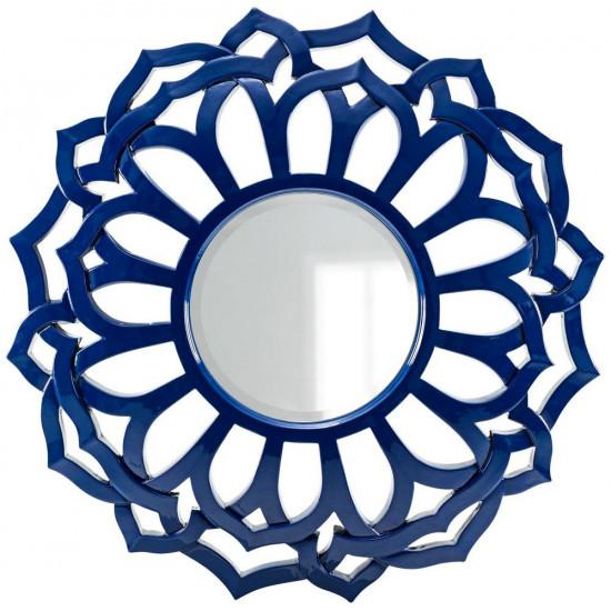 Зеркало в синей раме Коул Navy в интернет-магазине ROSESTAR фото