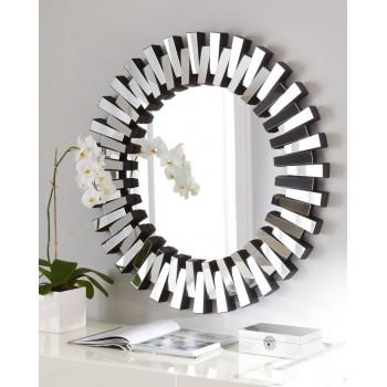 Круглое венецианское зеркало в раме Дориан