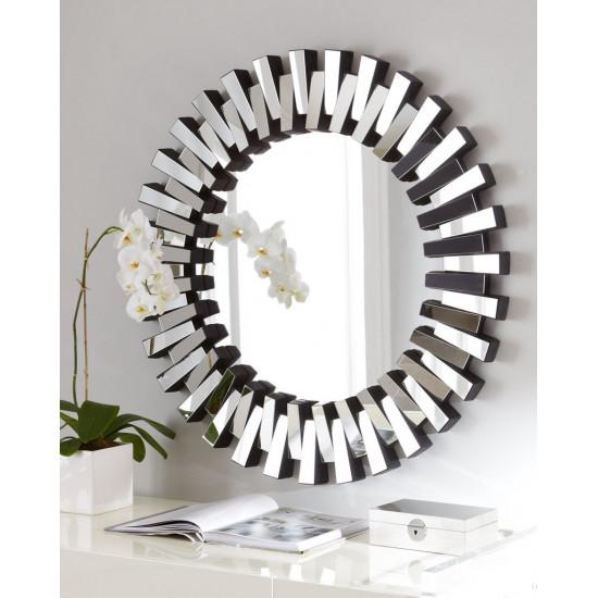 Круглое венецианское зеркало в раме Дориан в интернет-магазине ROSESTAR фото
