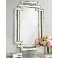 Дизайнерское стильное настенное зеркало в оригинальной раме Лацио