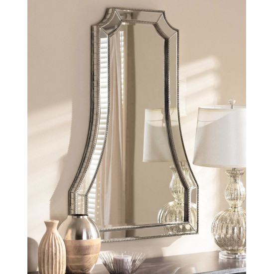 Зеркало дизайнерское настенное в раме Льюис в интернет-магазине ROSESTAR фото