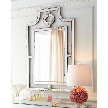 Дизайнерское венецианское зеркало настенное в раме Мадлен