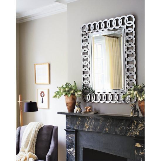 Настенное дизайнерское зеркало Огюст в интернет-магазине ROSESTAR фото