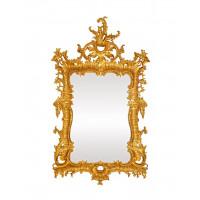 Зеркало настенное в золотой раме Вермонт