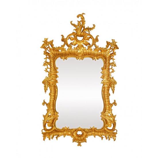 Зеркало настенное в золотой раме Вермонт в интернет-магазине ROSESTAR фото