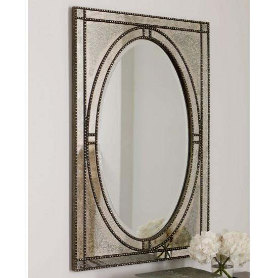 Настенное дизайнерское зеркало в раме Бруно в интернет-магазине ROSESTAR фото