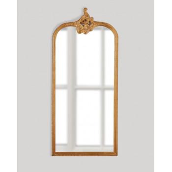 Напольное зеркало в полный рост в золотой раме Кайли Gold