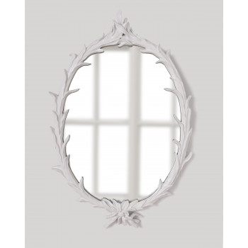 Зеркало в белой раме Буа