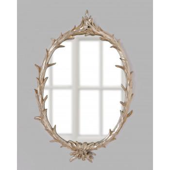 Зеркало в серебряной раме Буа