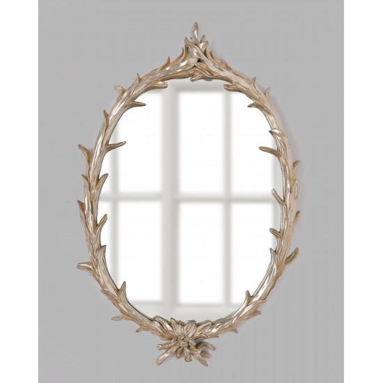 Зеркало в серебряной раме Буа в интернет-магазине ROSESTAR фото