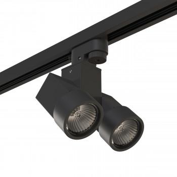 Трековый светодиодный светильник на штанге Illumo Illumo X2 Lightstar A1T051037