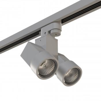 Трековый светодиодный светильник на штанге Illumo Illumo X2 Lightstar A1T051030