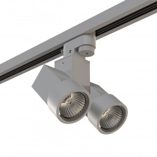 Трековый светодиодный светильник на штанге Illumo Illumo X2 Lightstar A1T051030 в интернет-магазине ROSESTAR фото