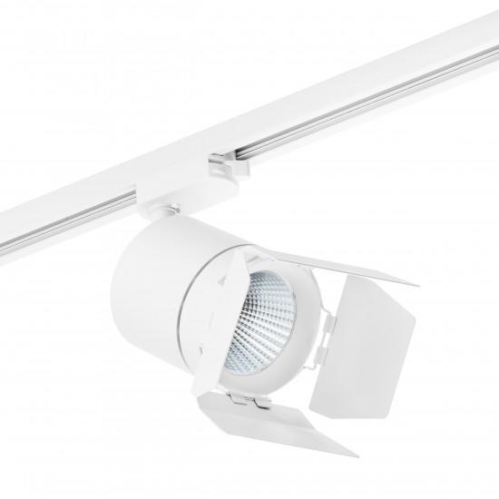 Трековый светодиодный светильник на штанге Canno Canno Lightstar C126296