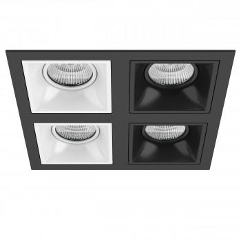 Встраиваемый точечный светильник DOMINO Domino Lightstar D54706060707