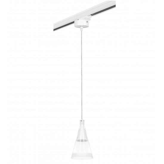 Подвесной трековый светильник Cone Cone Lightstar L3T757016